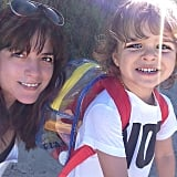 Selma Blair and Arthur Bleick had some birthday fun on the beach. Source: Instagram user therealselmablair