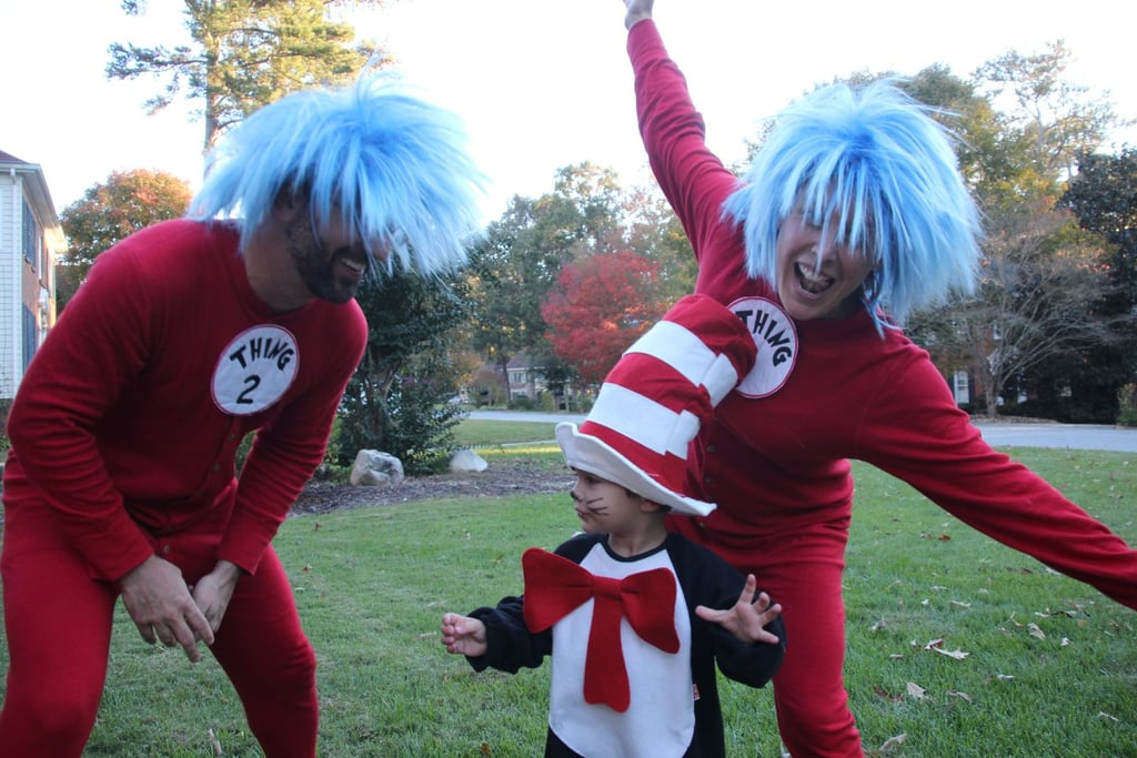 Thing 1, Thing 2, and Cat in a Hat