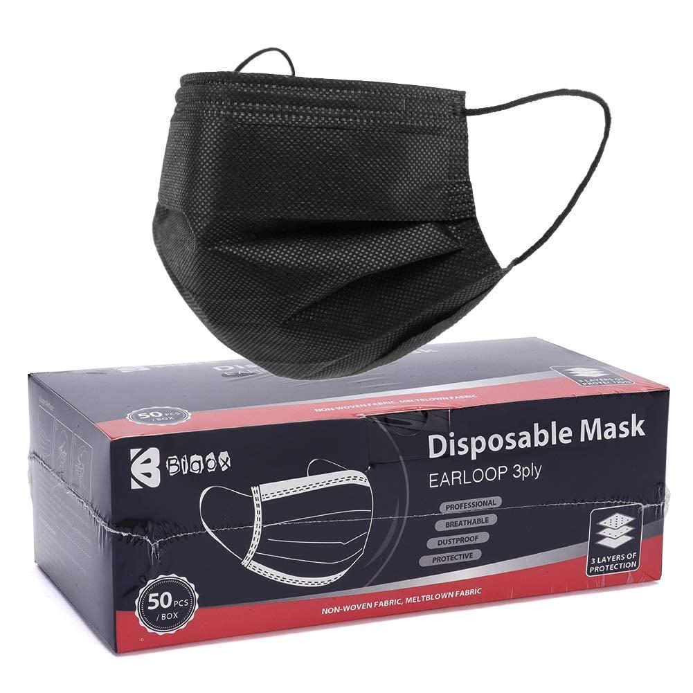 Bigox Black Face Mask