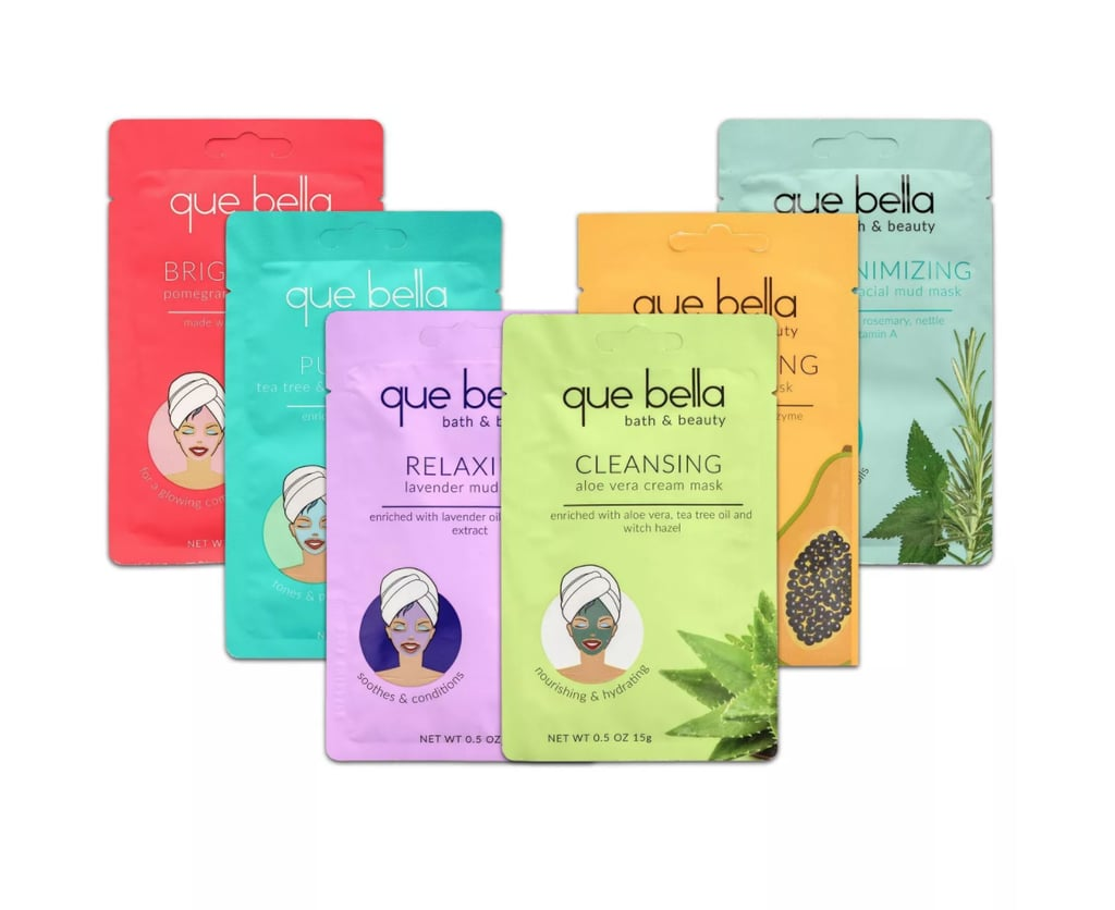 Que Bella Face Mask Pamper Pack