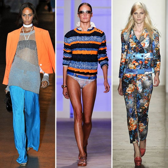 Spring 2012 Cool Colour Combo: Blue + Orange