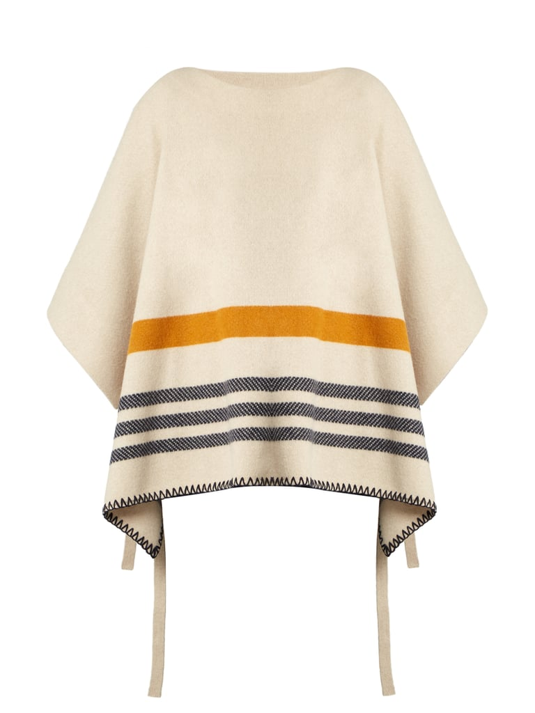 Chloé Tie Side Wool and Cashmere Poncho ($1,395)