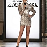 Project Runway Episode 14: Karlie's Silver '80s Dress