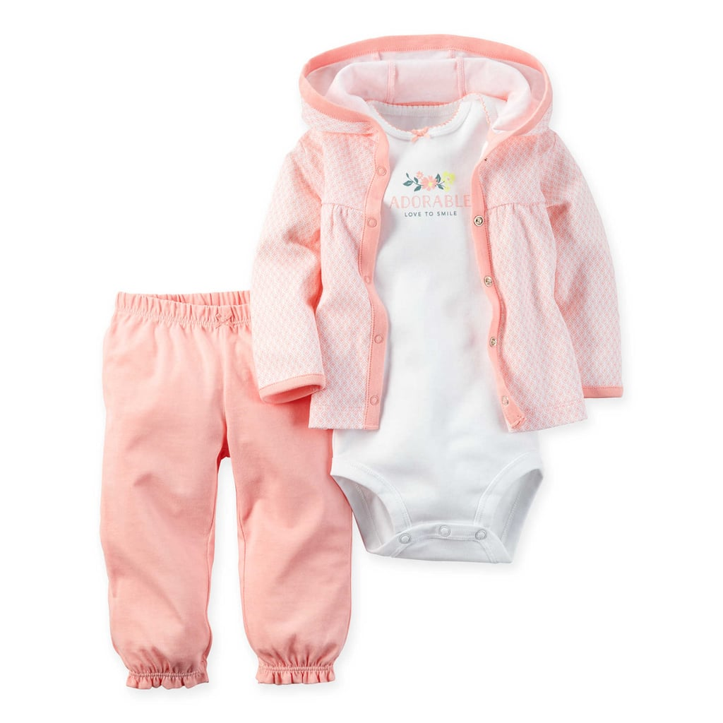 Newborn Clothes (Especially Anything With Buttons)