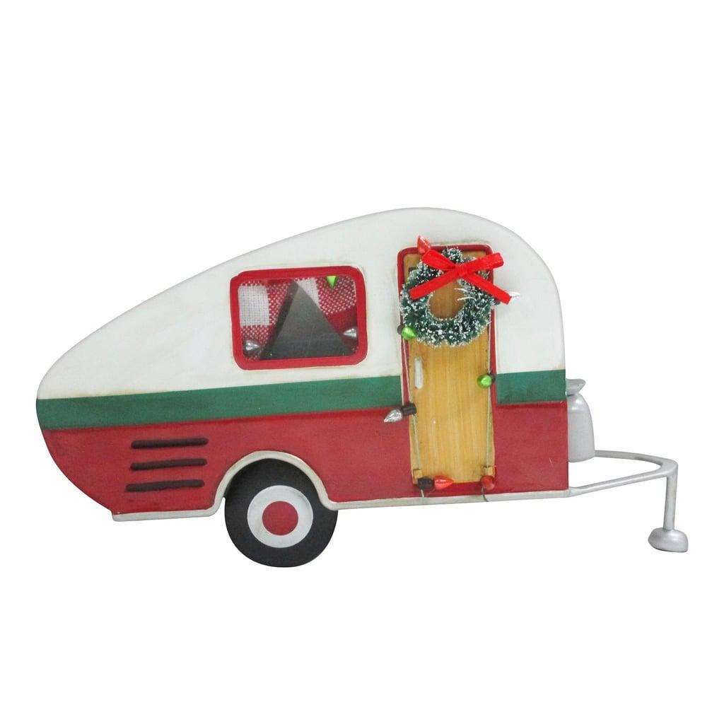 camper christmas figurine