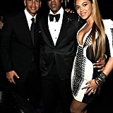 When He Hung Out With Beyoncé