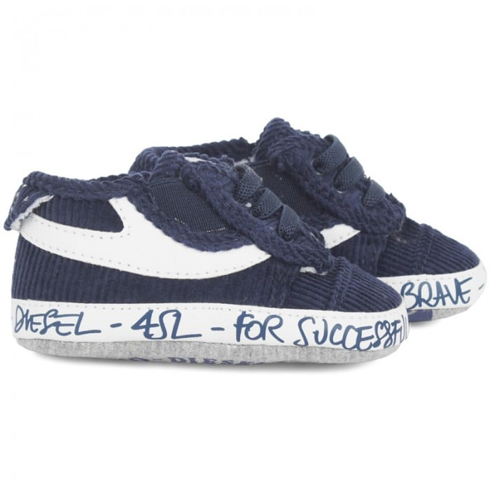 Diesel Corduroy Crib Shoes