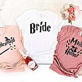 Wizard-Themed Bachelorette Party Shirts