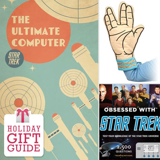 Put the gift card down and send Star Trek fans a smart present worthy of acceptance to the Starfleet Academy. From diamond rings to Enterprise pizza slicers, there's something for Trekkies of every age on Geek.