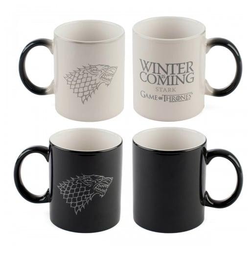 Game of Thrones Winter Is Coming Heat-Sensitive Mug ($18)