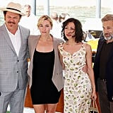 Carnage cast and writer Kate Winslet, Christoph Waltz, John C. Reilly, Yasmina Reza.