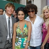 Zac Efron, Vanessa Hudgens, Corbin Bleu, and Ashley Tisdale