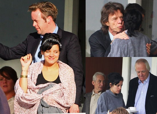 Photos of Lily Allen Watching England Versus Australia Cricket at Lords With New Boyfriend Sam Cooper, Plus Mick Jagger