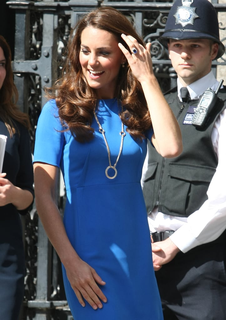 Kate Middleton arrived at the National Portrait Gallery.