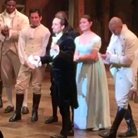 Hamilton Cast Tribute to Prince Video