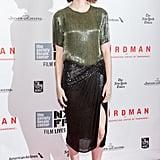 Emma Stone at the Closing Night Gala of Birdman in 2014