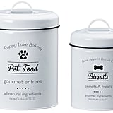Global Amici Puppy Love Metal Canister Set