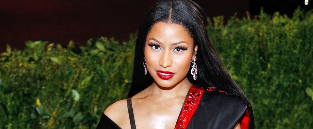 Nicki Minaj H&M Dress at the Met Gala 2017