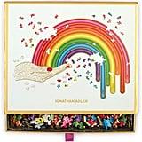 Galison Jonathan Adler Rainbow Hand 750-Piece Shaped Jigsaw Puzzle