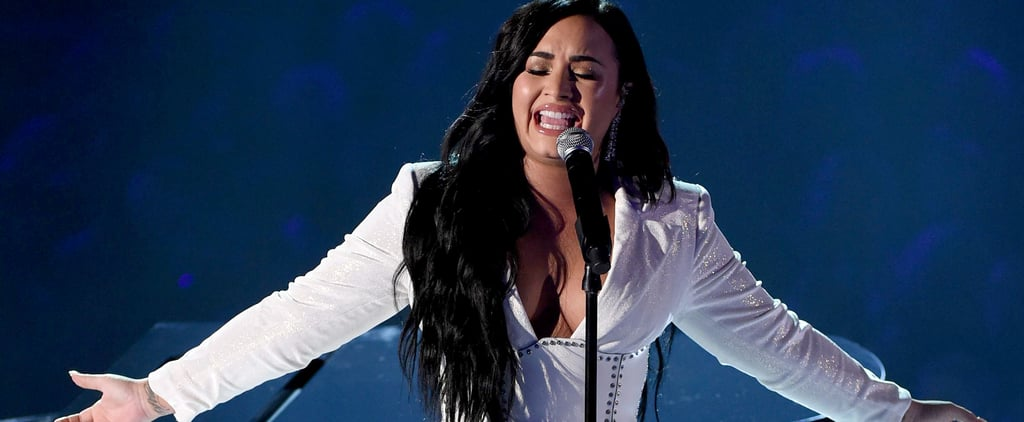 Demi Lovato's Christian Siriano Grammys Performance Gown