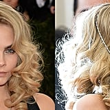 Cara Delevingne's Ringlets and Hair Jewelry, 2014