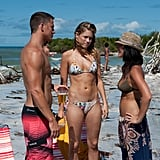 Channing Tatum, Cody Horn, and Olivia Munn in Magic Mike.