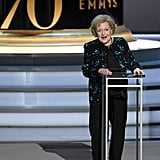 Betty White's Speech at the 2018 Emmys Video