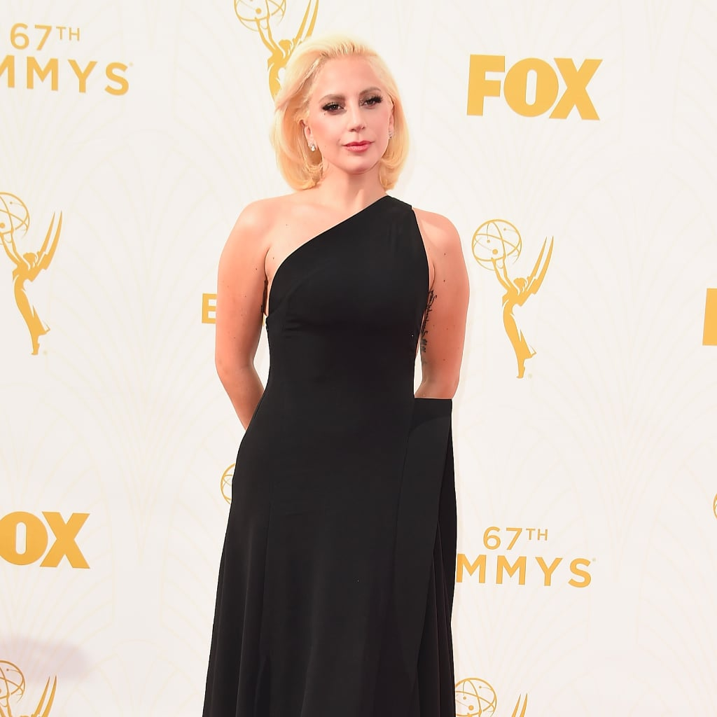 Lady Gaga Is Barely Recognisable at the Emmy Awards