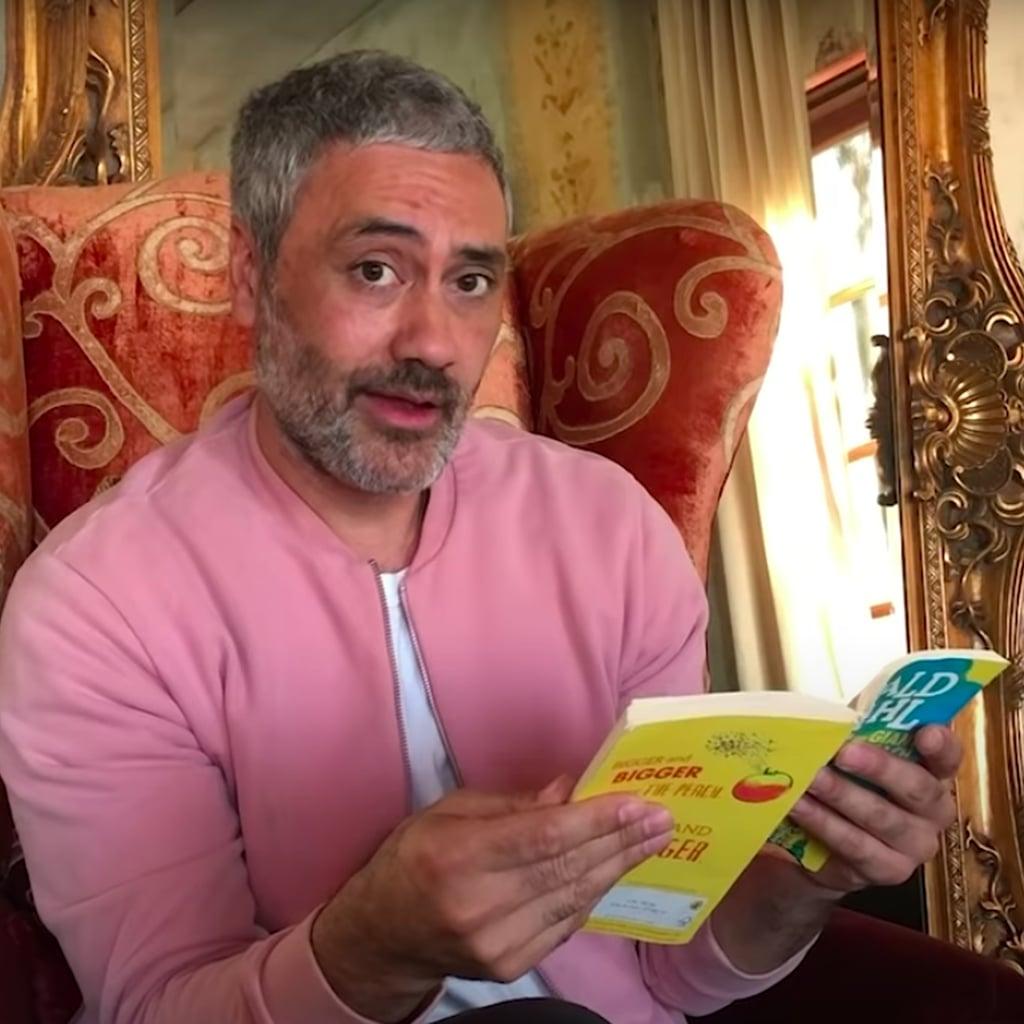 "Taika Waititi and Stars Read ""James and the Giant Peach"""