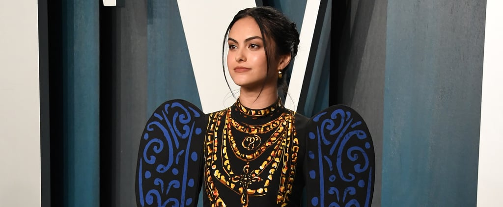 Camila Mendes's Moschino Dress at the Oscars Afterparty 2020