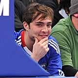 Ed Westwick Sets His Sights on a Game, Not Jessica Szohr