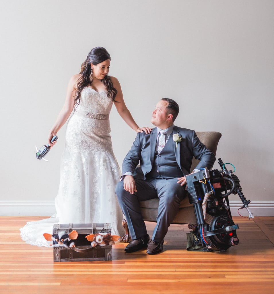 This Wedding Is a Spectacular Ode to Iconic Movies — From Disney Classics to Ghostbusters