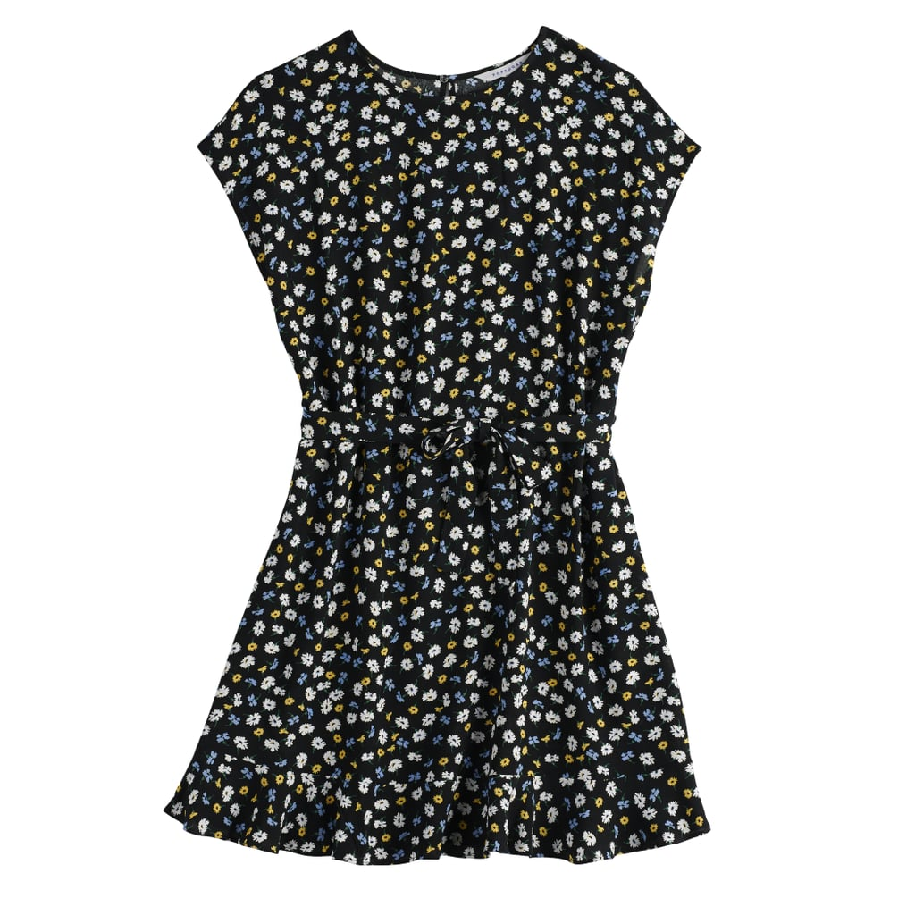 Tie Waist Dress in Ditsy Daisies