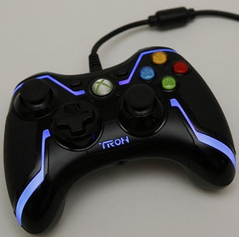 Tron Xbox 360 Controller, Keyboard, and Mouse