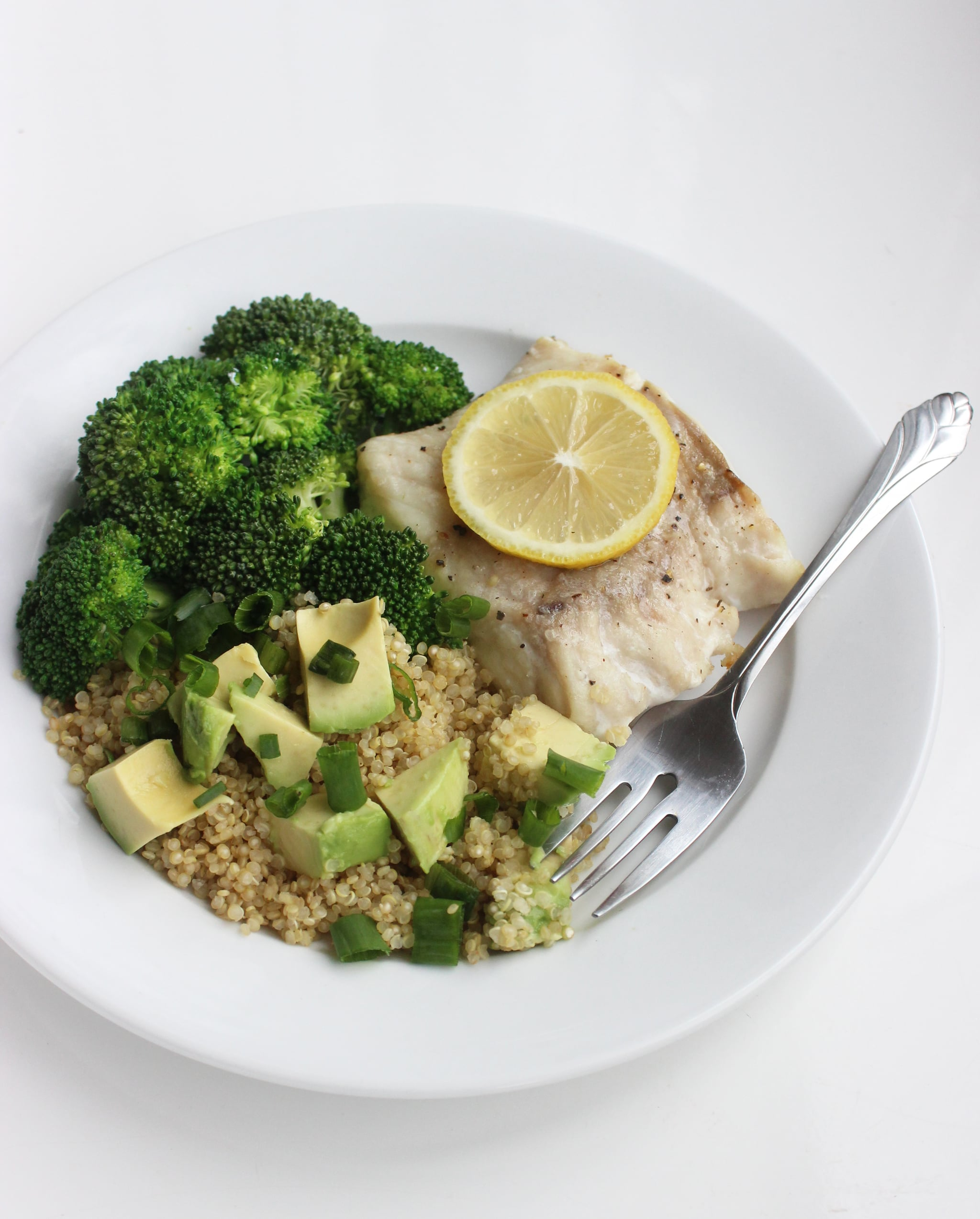 Fish And Quinoa Salad Recipe Popsugar Fitness