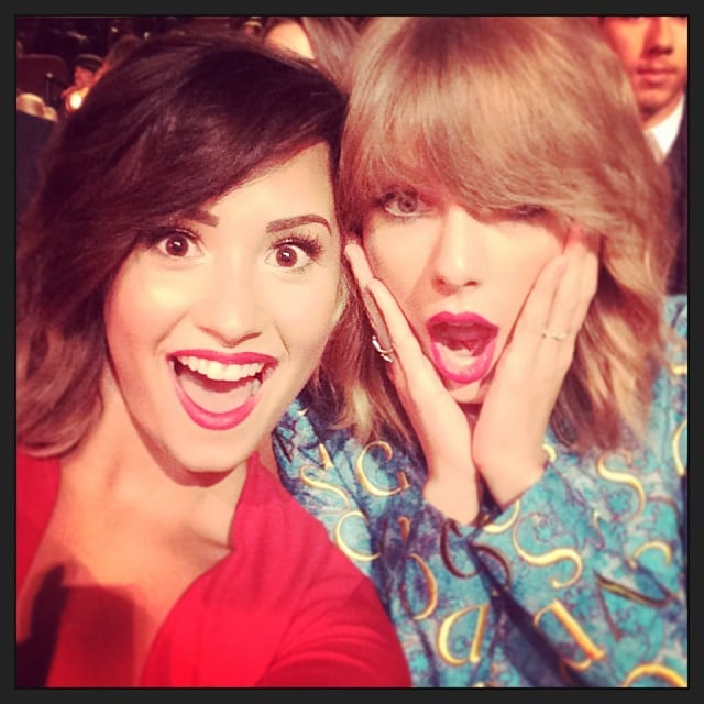 When it comes to surprise faces, Demi Lovato and Taylor Swift have it locked down.