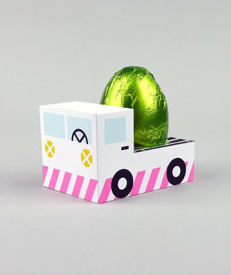 Easter Egg Truck
