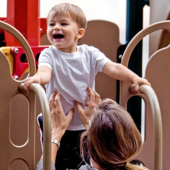 Gisele Bundchen With Ben at a Park in Boston