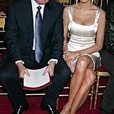 Donald and Melania Trump took in the 2003 show.