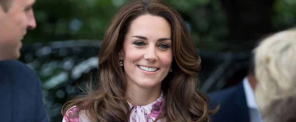 The Print on The Duchess of Cambridge's Dress Isn't Just a Bunch of Pretty Pink Flowers