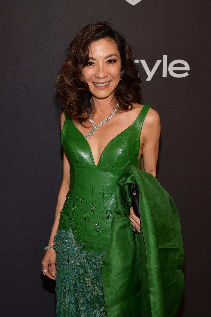 Michelle Yeoh Wears Crazy Rich Asians Ring At Golden