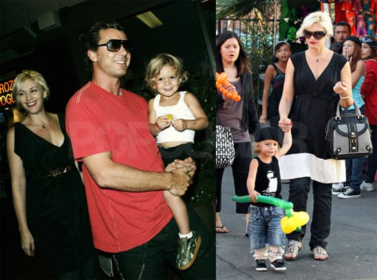 Photos of Kingston Rossdale and Gwen Stefani at the Fair