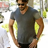 Joe Manganiello Wraps Up One Show and Preps For Another