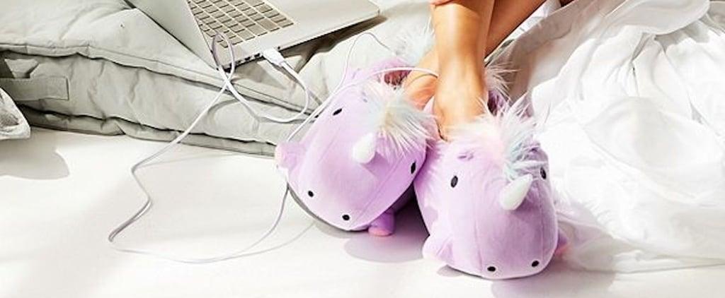 Unicorn Heat-Up Slippers 2018