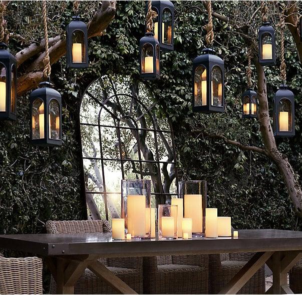 Indoor/Outdoor Flameless Candle Votive Set ($15)