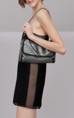 Stella McCartney Metallic Chain Bag