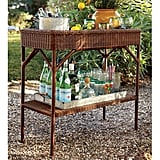 A Wicker Bar Cart ($299, originally $374) is the perfect piece for setting up an outdoor happy hour or displaying potted plants. We love that this one can transition indoors for the winter months.