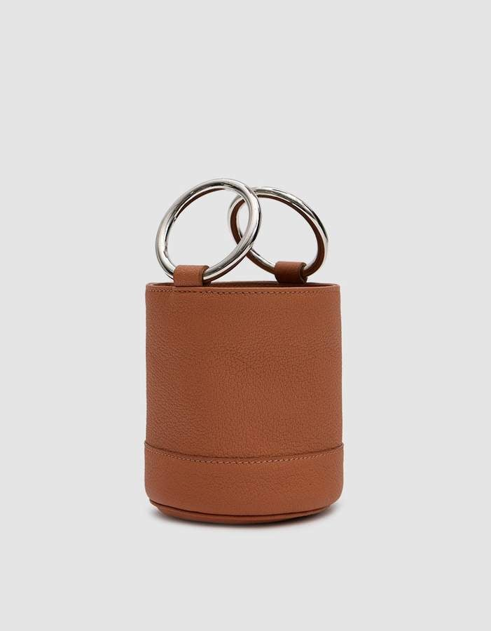 Simon Miller Bonsai Bag in Tan Pebbled Leather