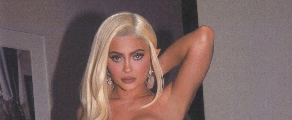 Kylie Jenner's Fairy Nails on Halloween