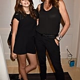Cindy Crawford and Kaia Gerber Wearing All-Black Looks in 2015